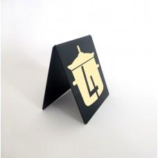 Asztali tábla (A alakú)